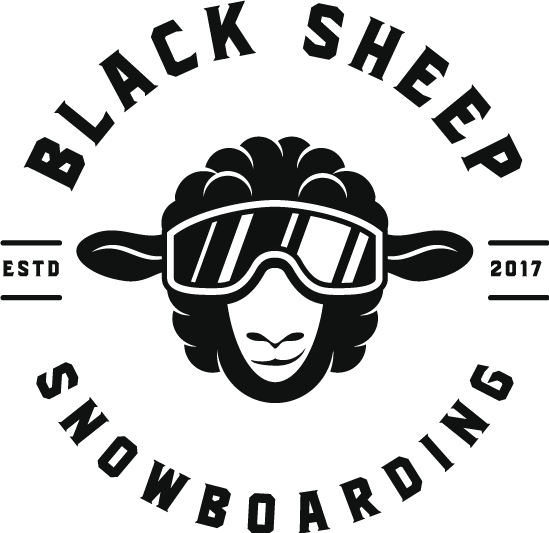 black sheep snowboarding